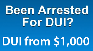 Chicago DUI Attorney Starting at 1,000